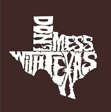Men's T-shirt - Dont Mess With Texas Word Art