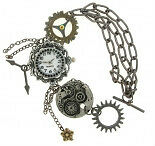 New Metal Steampunk Victoriana Charms A/S Jewellery Cardmaking Scrapbooking