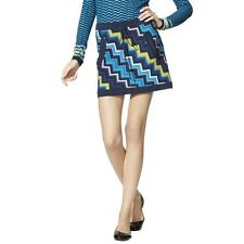 Missoni for Target Womens Zig Zag Sweater Skirt Blue Multicolor S NWT