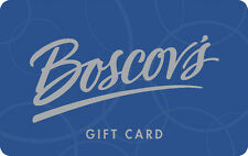 Boscov's Gift Card $25 - $50 - Mail delivery