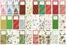 Printed Patterned Tissue Wrapping Paper designer 4 sheets - 30 designs u choose