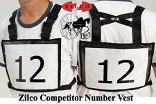 Zilco Competitor Vest Number Holder High Quality Suitable Carriage Driving  HDT
