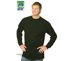 NEW Mens / Ladies Quality Plain Long Sleeve T Shirts - 100% Cotton Special Price