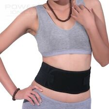 Power Tourmaline Far Infrared Rays Heat Health Waist Belt Slimming Balance Body