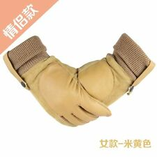 womans  motorcycle Fleece Lined Driving Winter warm Gloves Adult size New