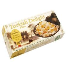 TRADITIONAL PLAIN / GUM MASTIC / MIXED FLAVOURED TURKISH DELIGHT,KOSKA 500 g