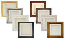 """3D Deep Box Picture Photo Frame Display Memory Medal Cast  4x4-16x16"""" 1.75""""/45mm"""