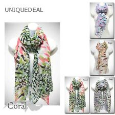 NEW VINTAGE SUMMER FIREWORKS PRINT SHAWL SCARF WRAP 4 COLORS/ PS2142