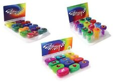 Colourfully Cool Contact Lens Soaking / Storage Cases - Flat - Barrel - Mirror
