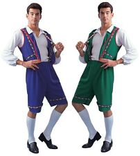 BAVARIAN ADULT COSTUMES SWISS LEDERHOSEN YODELER GERMAN MAN COSTUMES 80079