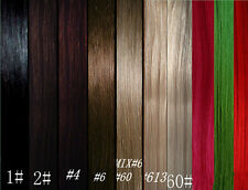 """CLIP IN REMY HUMAN HAIR EXTENSIONS *10pc Full Head Set! 20""""125g #613HONEY BLONDE"""