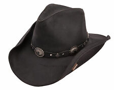 Stetson Leather Roxbury Western Cowboy Hat