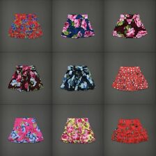 Abercrombie & Fitch Womens Floral Skirt Hollister Mini Multi Sizes/Color NWT