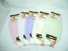 BATH & SHOWER EXFOLIATING & CLEANSING MITTEN- YOU CHOOSE COLOR  (NWT)