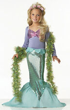 Child Ariel Little Mermaid Costume Halloween
