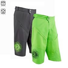 Tenn Mens Breeze MTB/Off Road 3/4 Length Ventilated Baggy Cycle Shorts