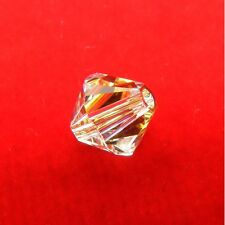 10 Genuine SWAROVSKI Crystal BICONE Bead 6mm 8mm CLEAR AB2X / JET/ BLACK DIAMOND