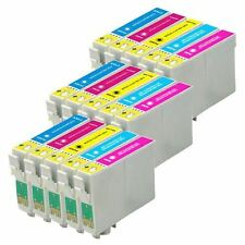 15 Colour Ink Cartridges non-OEM to replace T0802, T0803, T0804, T0805, T0806