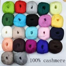 Brand New 1x50g Lace 100% cashmere wool soft knitting yarn 22colors for choose