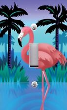 Light Switch Plate Switchplate & Outlet Covers PINK FLAMINGO IN WATER