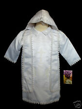 Baby Boy Toddler Christening  Gown White size: XS, S, M,L,XL (NEW BORN-24 M)