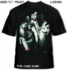 "FEAST - T-SHIRT - THE MOUNTAIN  SKULBONE - ""L"" - 1/SIDED - NEW*"