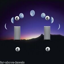 Light Switch Plate & Outlet Covers SOLAR SYSTEM PHASES OF THE MOON