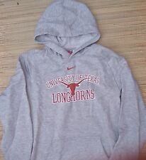 """NIKE TEAM """"TEXAS LONGHORNS"""" YOUTH HEATHER PULLOVER HOODIE SIZE S TO XL LIST $38"""