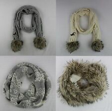 Hollister Womens Classic Cable Knit Scarf Endless Loop Faux by Abercrombie NWT!