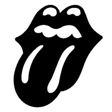 "Rolling Stones Vinyl Sticker Decal Wall or Window - 4"" to 24"" - Many Colors"