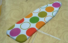 IRONING BOARD COVER PAD 15 x 54 PREMIUM HEAVY DUTY PINK GREEN ORANGE BLUE WHITE