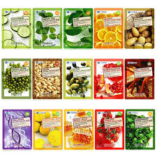 Food a Holic - Natural Essence Mask 16 kinds  3pcs