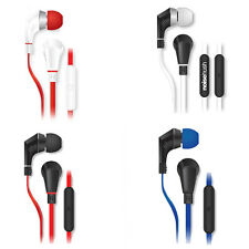 ORIGINAL NOISEHUSH NX80 3.5mm STEREO HEADPHONES HEADSET MIC ALL COLORS NX-80 MP3