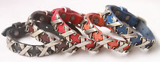 Genuine Leather Bracelet New Style Adjustable Cuff Punk Men Bracelet Ns111-115