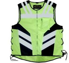 Motorbike Motorcycle High-Vis vest bright reflective waist  and cycle clothing