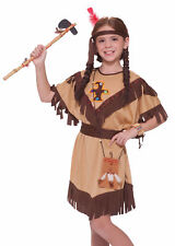 Child Native American Indian Princess Dress Costume