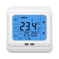 Touch Screen floor underfloor thermostat for water & electric heating systems
