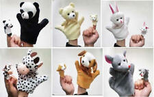 2pcs Soft Animal Hand Finger Puppet Baby Infant Kids Toy Plush Educational Toys