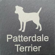 Beware Of The Patterdale Terrier Natural Slate Dog Sign Plaque Sign 11 Designs