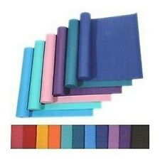 24 x 68 -inch YOGA PILATES Mat Pad Non-Slip Exercise Fitness 3MM 4 COLORS