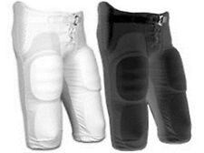 NEW Champro Integrated Football Pants, YOUTH, Black or White, Built-In Pads