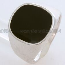 New Arrival Black CZ 18K Gold Plated Fashion Cute Ring 90650 Free Shipping