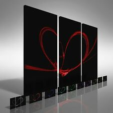 Love Is In The Air Treble Canvas Print Large Picture Wall Art