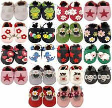NEW SOFT LEATHER BABY BOY & GIRL SHOES 0-6, 6-12, 12-18, 18-24 MTHS & 2-3 YRS