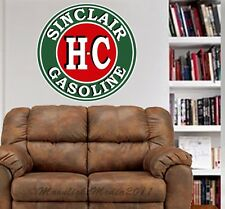 Sinclair HC Gasoline Vintage Repro WALL GRAPHIC FAT DECAL GAS MAN CAVE MURAL