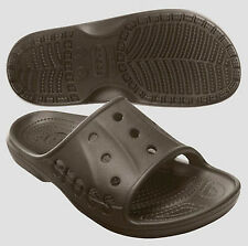 Crocs Baya Slide Espresso Brown Size 4 5 6 7 8 9 10 11 12 13