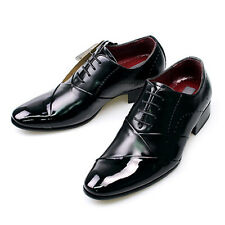 Tall Height Elevator Dress Shoes Leather Men's ds01