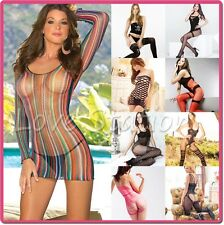 Bridal Wedding Lingerie Sheer Bodystocking Open Crotch  Honeymoon Selebritee
