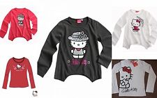 Girls NWT SANRIO HELLO KITTY LONG SLEEVE TOP TSHIRT 3 4 5 6 7 8 9 10 11 12 13 14