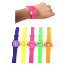 Charming Students Jelly Rubber Candy Girls Womens Club Sports Wrist Watch